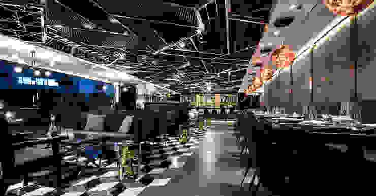 Cozi Lounge Modern bars & clubs by Artta Concept Studio Modern Metal