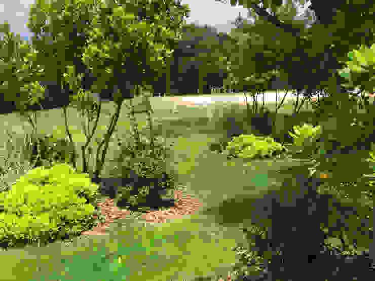 Paradeisos conception de jardin Country style pool
