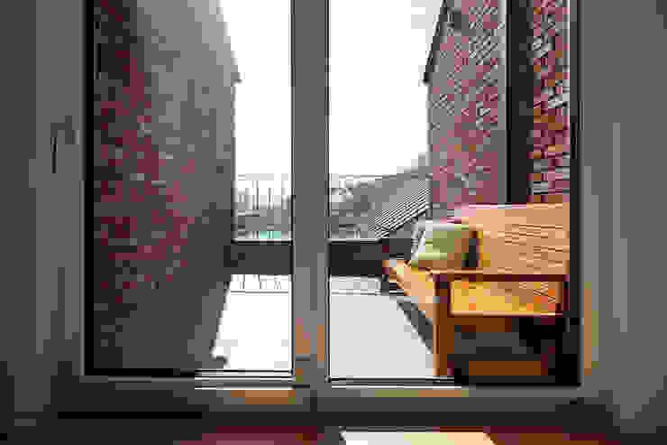 Terrasse de style  par (주)하우스스타일