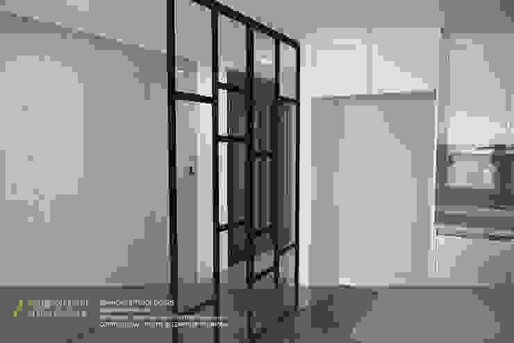 하남 미사강변신도시 LH 7단지 34평형 모던스타일 주방 by 리인홈인테리어디자인스튜디오 모던