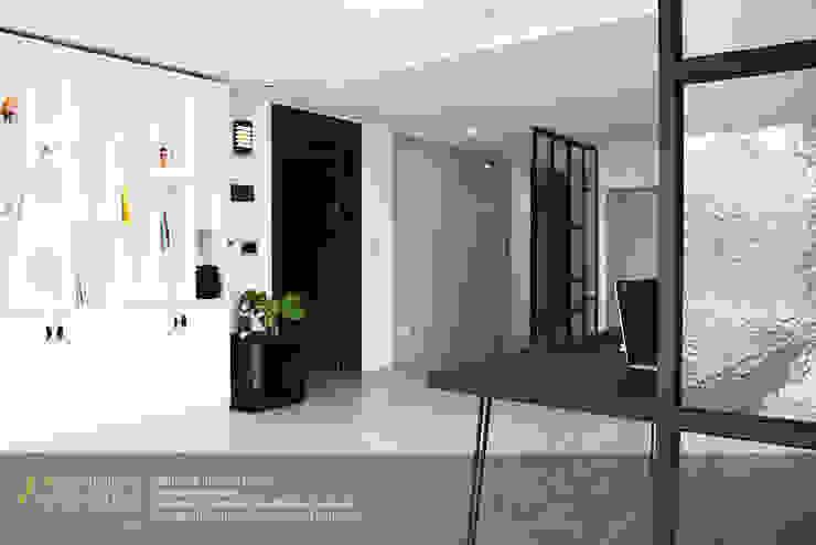 하남 미사강변신도시 LH 7단지 34평형 모던스타일 거실 by 리인홈인테리어디자인스튜디오 모던