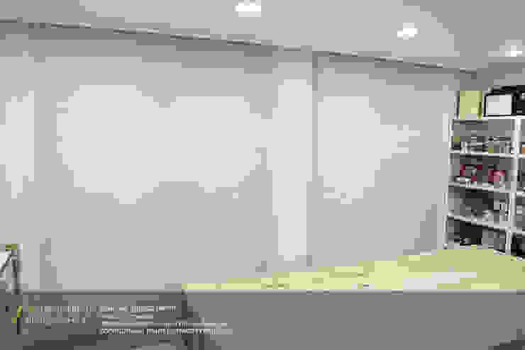 경남 양산시 양우내안에 3차 33평 모던스타일 창문 & 문 by 리인홈인테리어디자인스튜디오 모던