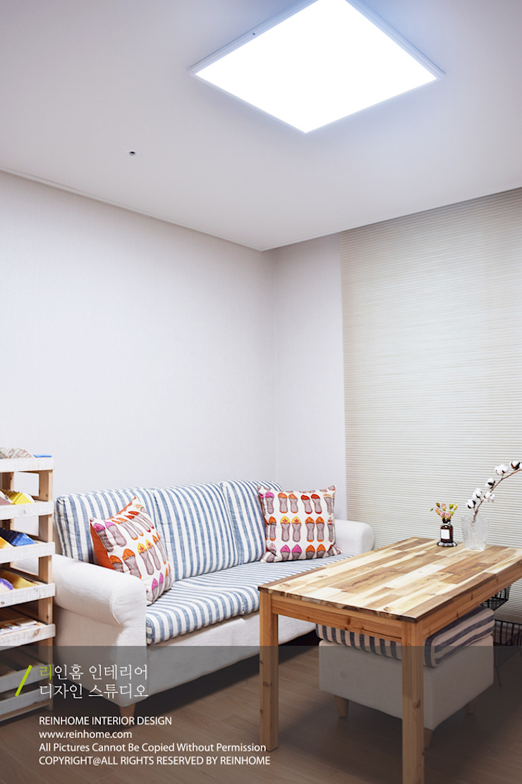경남 양산시 양우내안에 3차 33평 모던스타일 미디어 룸 by 리인홈인테리어디자인스튜디오 모던