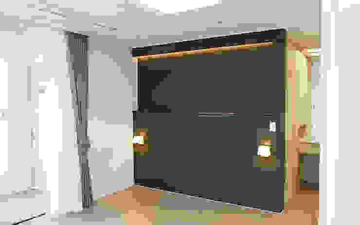 하남 유니온시티 에일린의뜰 C타입 34평 모던스타일 미디어 룸 by 리인홈인테리어디자인스튜디오 모던