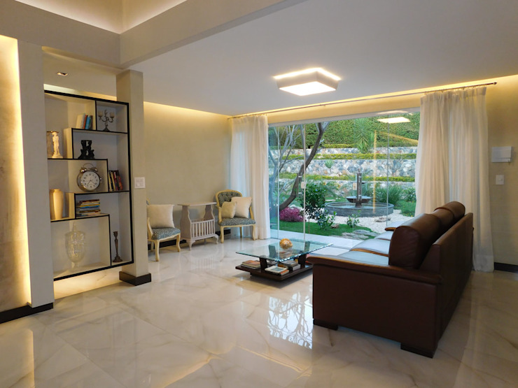 Efeito Arquitetura Ruang Keluarga Modern