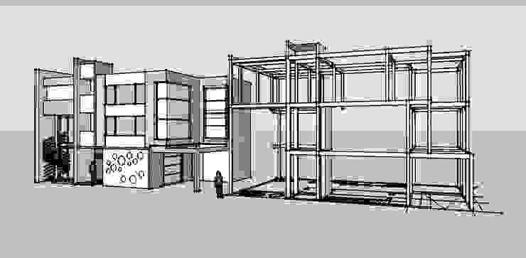 建築作品: 現代  by 台中室內設計-築采設計 , 現代風