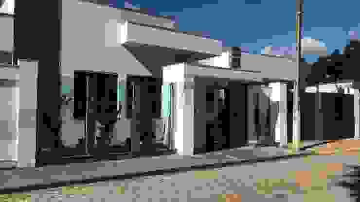Casa MA Efeito Arquitetura Casas modernas