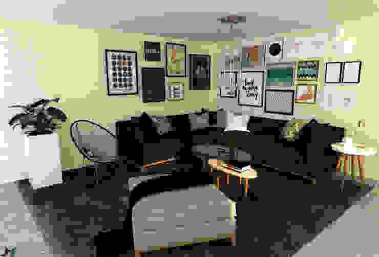 ITOARQUITETURA SalonesAccesorios y decoración Azulejos Negro