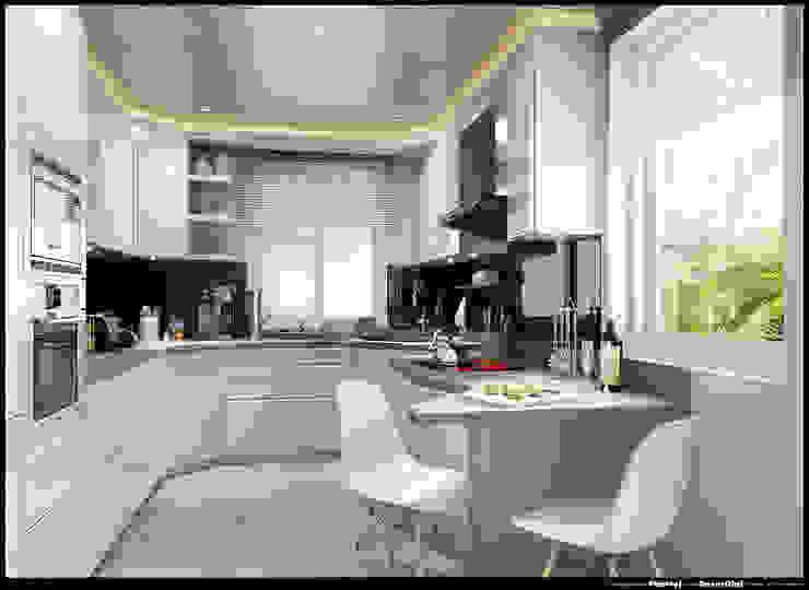 ออกแบบตกแต่งภายในบ้านคุณนิจจารีย์: ทันสมัย  โดย Decordini, โมเดิร์น