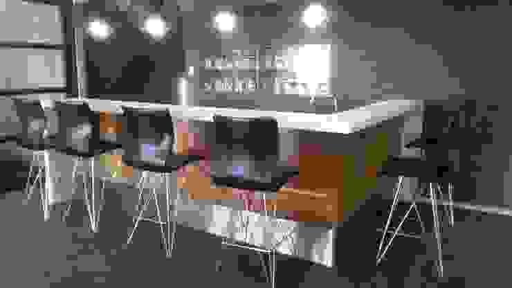 modern  by MINIM INTERIOR DESIGN, Modern Leather Grey