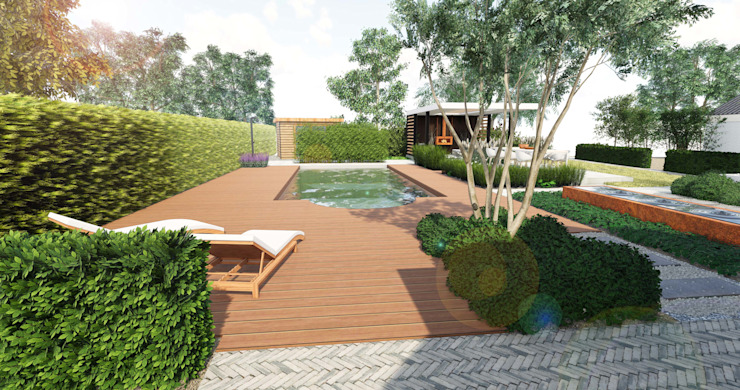 zwembadtuin 3D van BMT