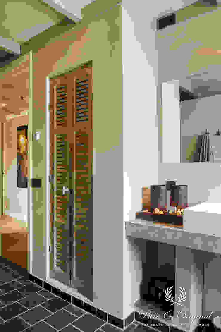 Fresco in de kleur Flannel Grey Landelijke badkamers van Pure & Original Landelijk