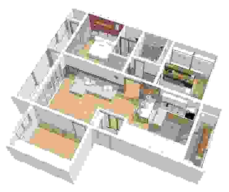투시도 02 : 덴보드의 현대 ,모던