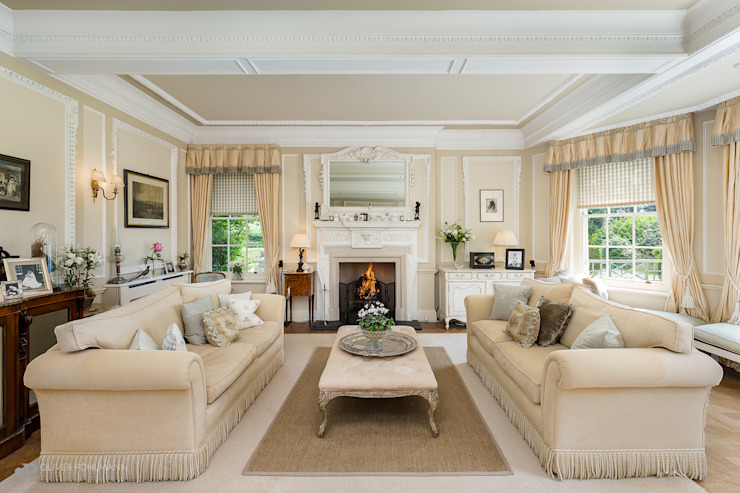 Residential Photography by Oliver Pohlmann Country style living room by Oliver Pohlmann Photography Country