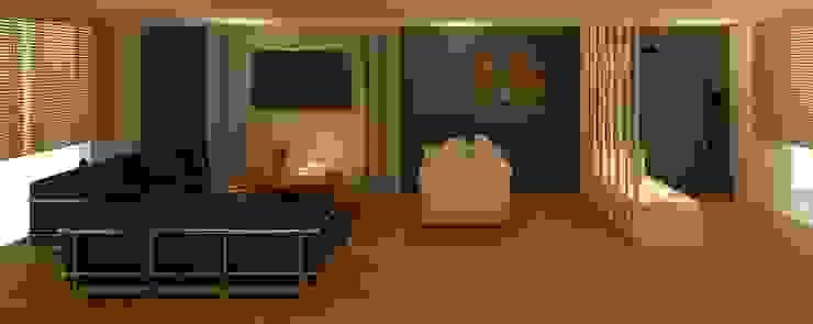 Sala - Recibidor Salones modernos de Perfil Arquitectónico Moderno