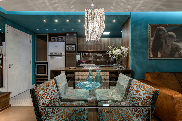 arquiteta aclaene de mello Modern dining room