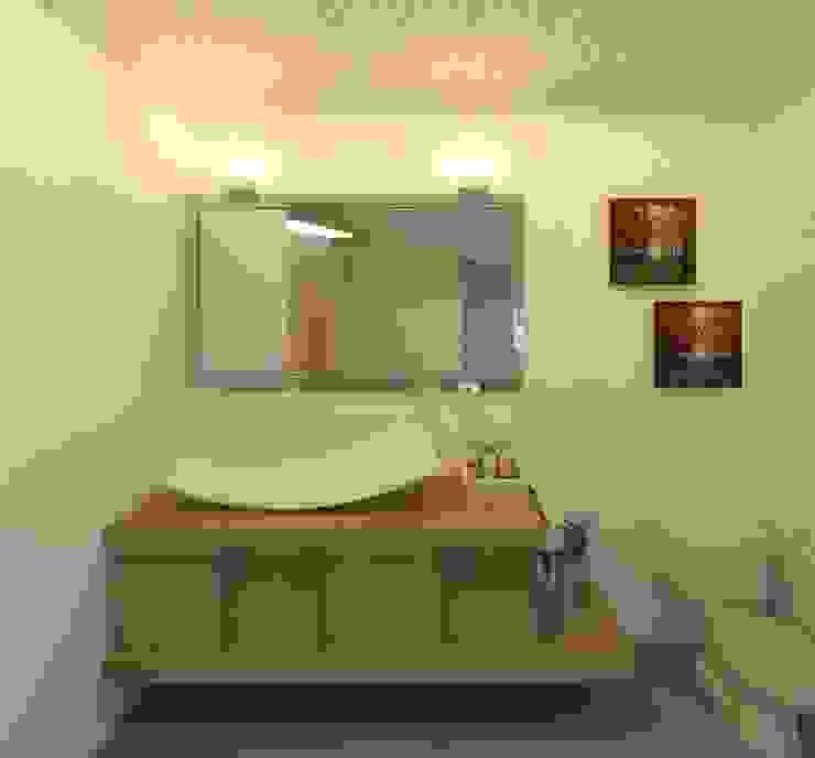 Medio baño Baños modernos de Perfil Arquitectónico Moderno