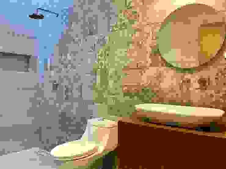 Baños de estilo  por CAMAOS