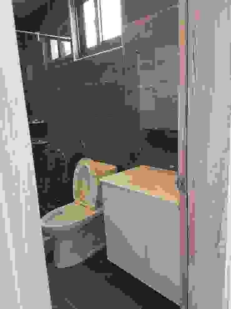 主臥浴室 根據 懷謙建設有限公司 北歐風