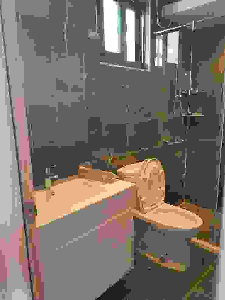 女兒房浴室 根據 懷謙建設有限公司 北歐風