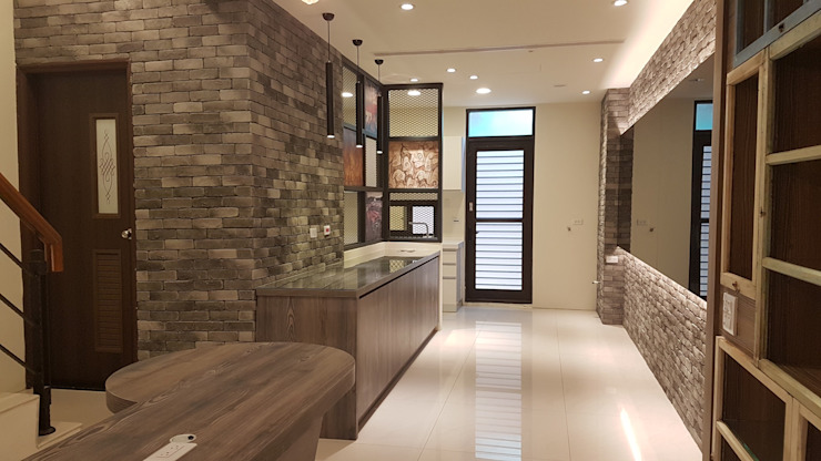 Modern kitchen by 懷謙建設有限公司 Modern