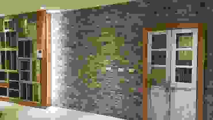 Modern living room by 懷謙建設有限公司 Modern