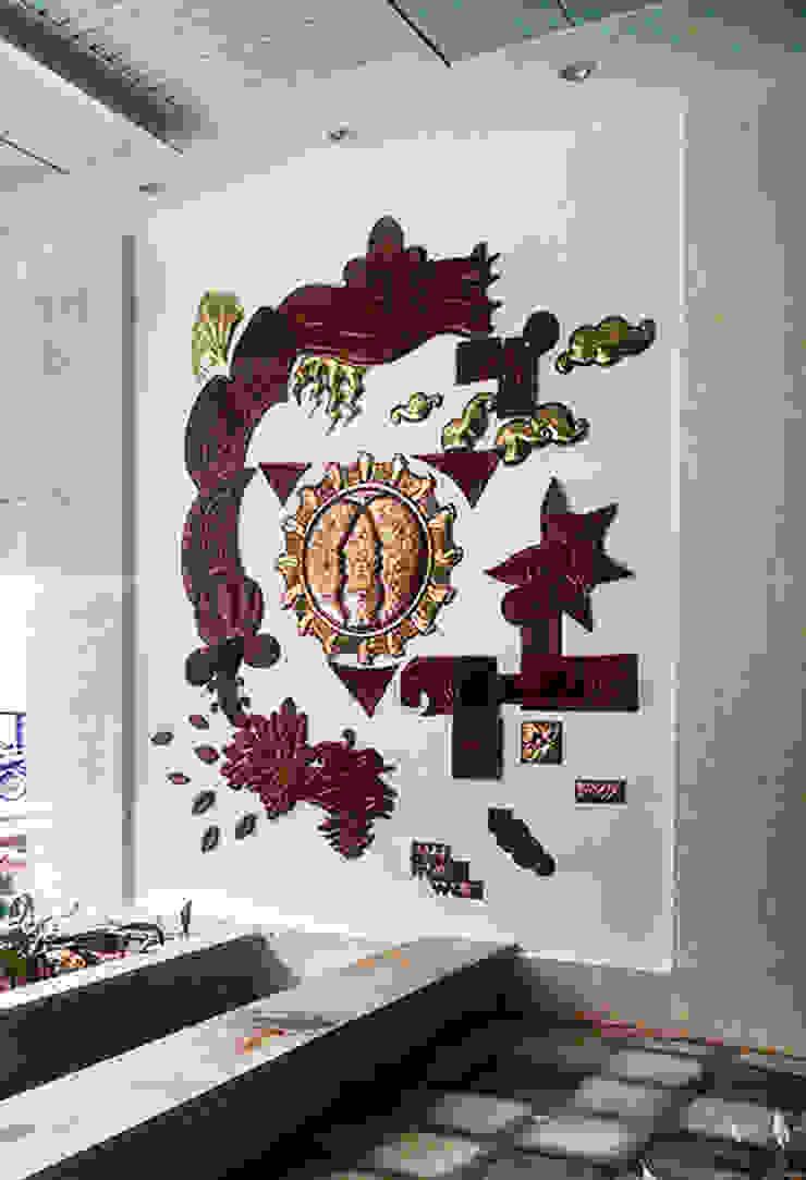 rustic  by BhuviDesignStudio, Rustic Copper/Bronze/Brass