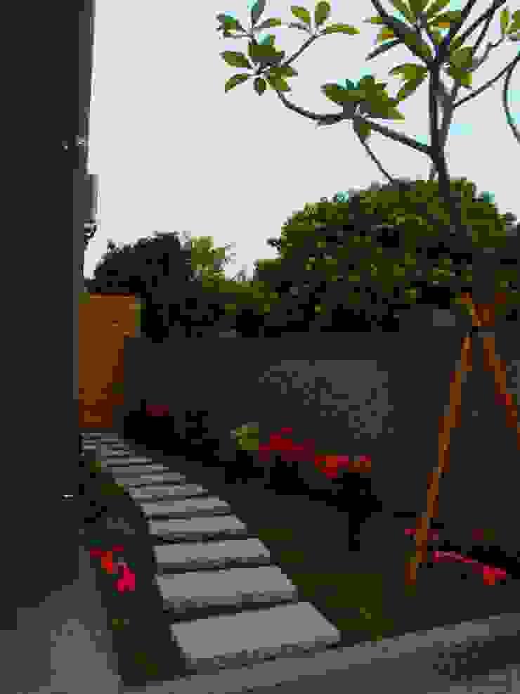 畸零地空間利用-花園 根據 懷謙建設有限公司 熱帶風