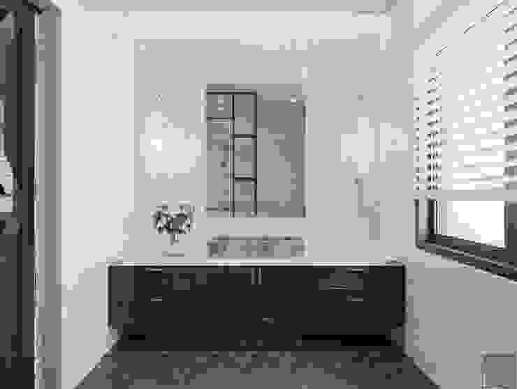 Thiết kế nội thất biệt thự 3 tầng sang trọng với phong cách hiện đại – ICON INTERIOR Phòng tắm phong cách hiện đại bởi ICON INTERIOR Hiện đại