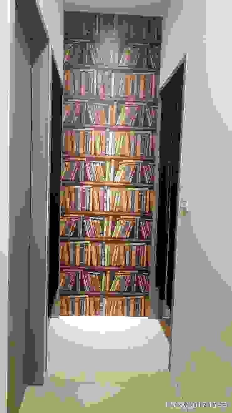 走廊 隨意取材風玄關、階梯與走廊 根據 懷謙建設有限公司 隨意取材風