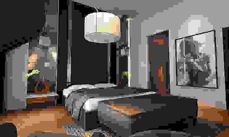 bedroom Modern style bedroom by Norm designhaus Modern