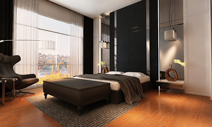 master bedroom Modern style bedroom by Norm designhaus Modern