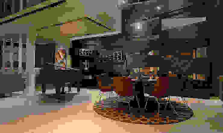 Dining area design by Norm designhaus Modern