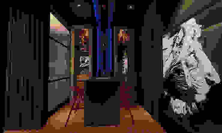 wine cabinet design by Norm designhaus Modern