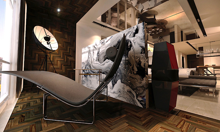 reading area by Norm designhaus Modern