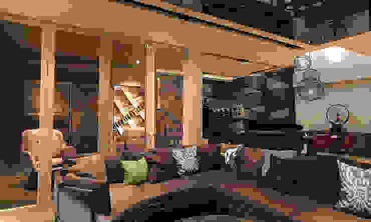 Sofa area by Norm designhaus Modern