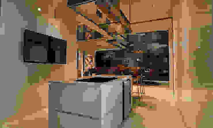 Kitchen design, home design Malaysia Modern style kitchen by Norm designhaus Modern