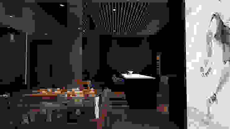 home cinema design, home design Malaysia Modern style media rooms by Norm designhaus Modern