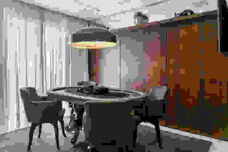 Apartamento L.O.: Salas de estar  por Rosset Arquitetura,Moderno