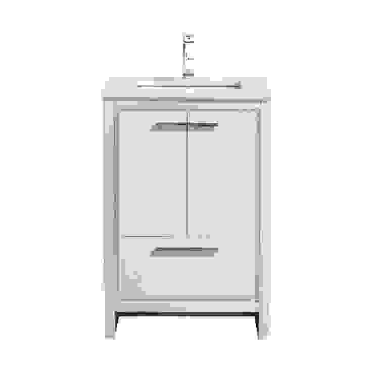 DOLCE - 24″ - HIGH GLOSS WHITE - SKU: AD624GW KubeBath BathroomStorage