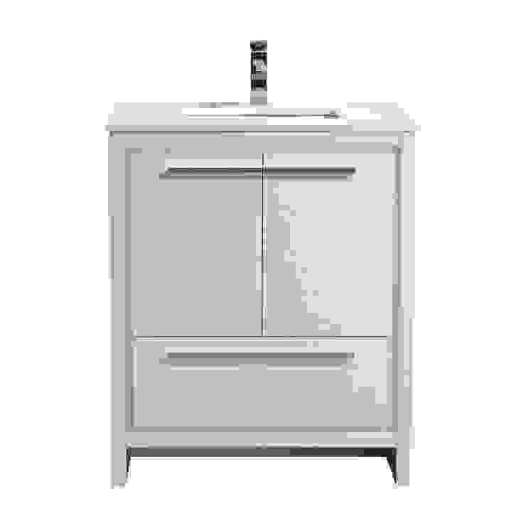DOLCE - 30″ - HIGH GLOSS WHITE - SKU: AD630GW KubeBath BathroomStorage