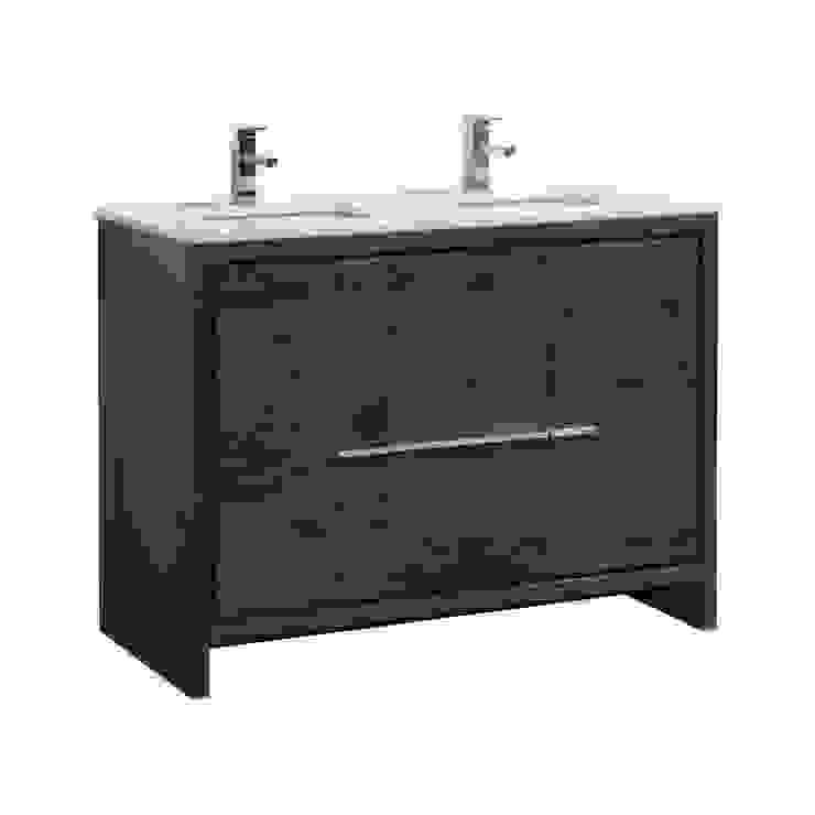 DOLCE - 48″ - ROSE WOOD - DOUBLE SINK - SKU: AD648DRW KubeBath BathroomStorage