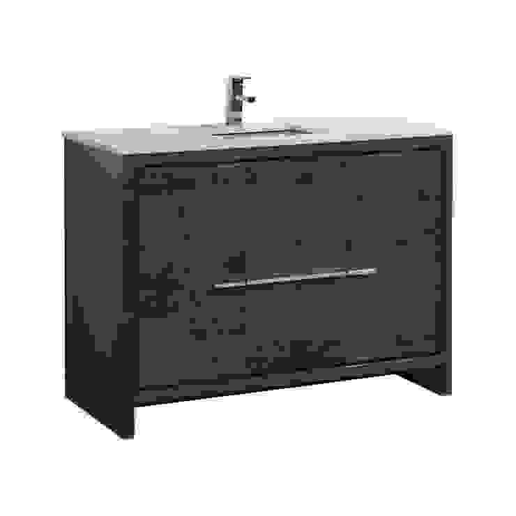 DOLCE - 48″ - ROSE WOOD - SINGLE SINK - SKU: AD648SRW KubeBath BathroomStorage