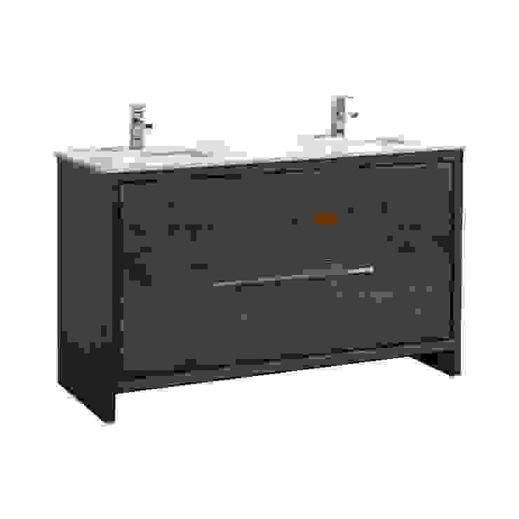 DOLCE - 60″ - ROSE WOOD - DOUBLE SINK - SKU: AD660DRW KubeBath BathroomStorage