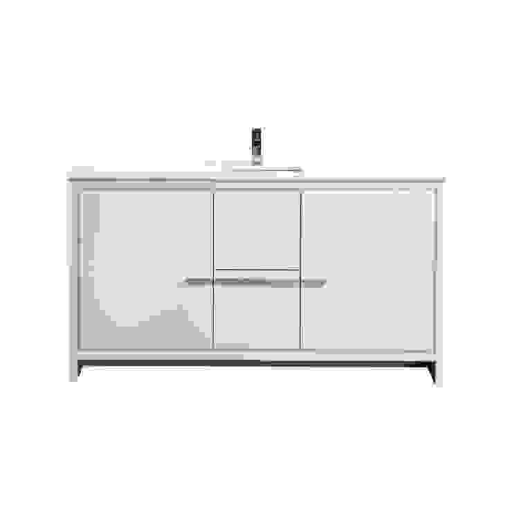 DOLCE - 60″ - HIGH GLOSS WHITE - SKU: AD660SGW KubeBath BathroomStorage