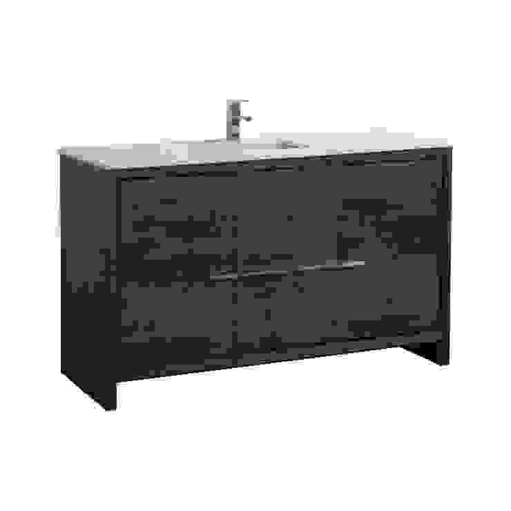 DOLCE - 60″ - ROSE WOOD - SKU: AD660SRW KubeBath BathroomStorage