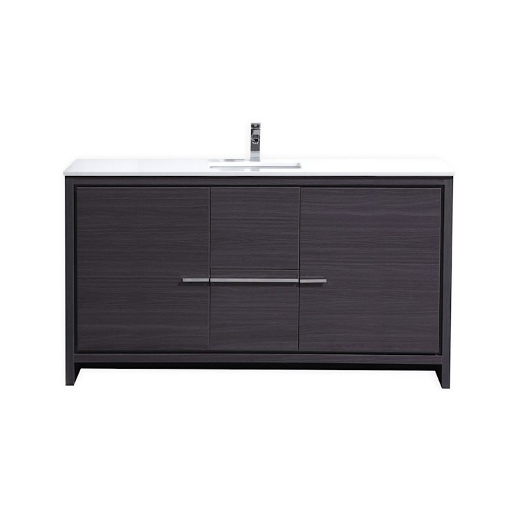 DOLCE - 60″ - GRAY OAK - SKU: AD660SWB KubeBath BathroomStorage