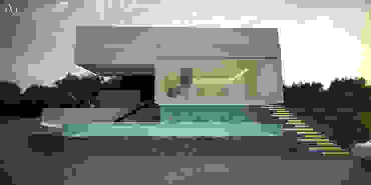 Vista Lateral 21arquitectos Casas minimalistas