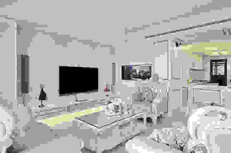 夢幻新古典國度 根據 趙玲室內設計 古典風
