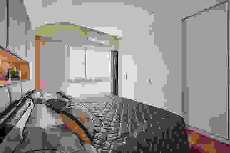 主臥衛浴隱藏門設計 化解風水禁忌 根據 趙玲室內設計 現代風